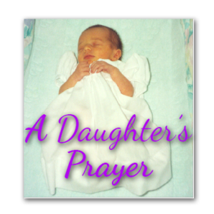 A daughter's prayer cd cover 2016