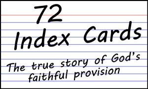 72 Index Card Logo